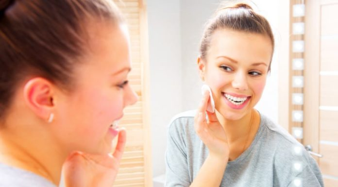 exfoliating and facial cleansing